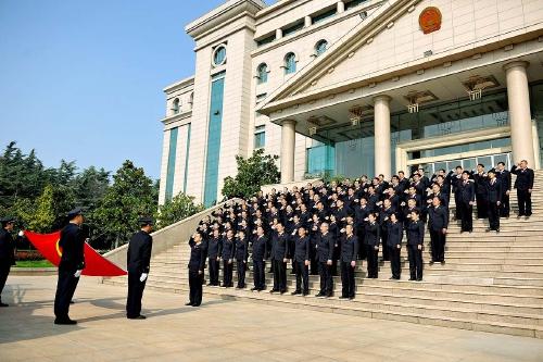 山东省邹城市检察院全面贯彻落实上级院部署要求