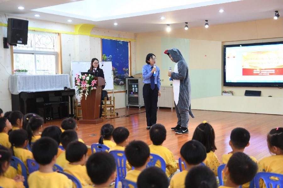 湖南长沙岳麓区:普法儿童剧走进幼儿园