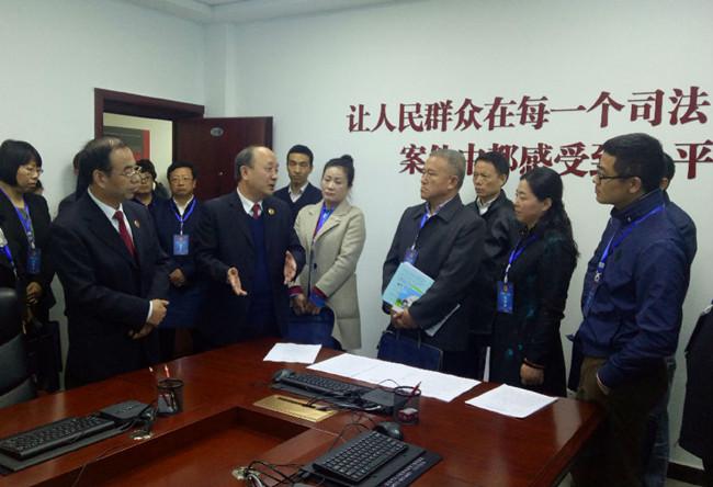 17位全国人大代表视察陕西检察工作